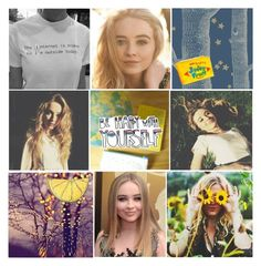 """""""Sabrina Carpenter Aesthetic -Hannah"""" by fandomsarelife ❤ liked on Polyvore featuring art and hannahsongkisses"""
