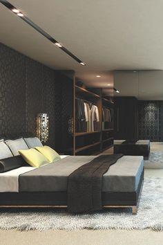 decoracin masculina para dormitorios - Stylish Bedroom Design