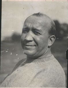 Knute Rockne.  Was the coach when my dad went to college there.  Asked him to play football for ND