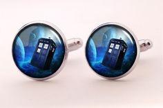 Manschettenknöpfe TARDIS, 0338CS