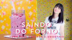 Tour pela Cozinha, Boboy e Smoothie de Frutas Vermelhas | SAINDO DO FORN...