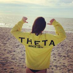 theta spirit football jersey
