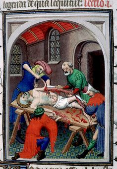 Martyre de saint Barthelemy. c.1414 Paris by tony harrison, via Flickr