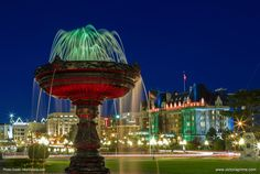 Victoria is a beautiful, vibrant city that has so many spectacular places to see. The scenery is so incredible that you have to see it for yourself. Victoria British Columbia, Visit Victoria, Vancouver Island, Vacation Rentals, Places To See, Fountain, Scenery, The Incredibles, City