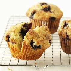 Blueberry Muffins: a perfect summer breakfast or picnic staple!