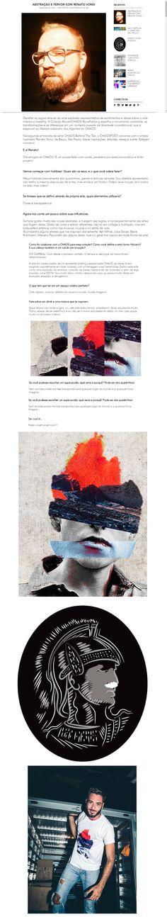 """Confira este projeto do @Behance: """"CHAOS - UOMO VOLCANO"""" https://www.behance.net/gallery/43518647/CHAOS-UOMO-VOLCANO"""