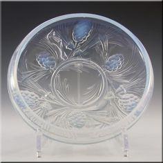Jobling Art Deco Opaline/Opalescent Glass Fircone Bowl - £79.99