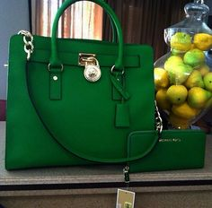 The Hamilton bag in what's now called gooseberry.