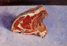 Rib of Beef by @art_caillebotte #impressionism