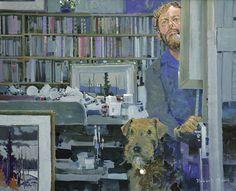 Self-portrait -- acrylic painting by Robert Genn