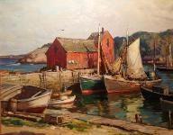 Aldro Thompson Hibbard (1886-1972): Motif #1 - Rockport