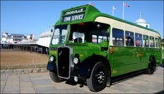 New vintage bus service launches between Burnham and Weston Weston Super Mare, Routemaster, Bus Coach, Burnham, Busses, Car Car, Coaches, Bristol, Trains