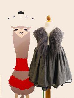 Pinafore party dress