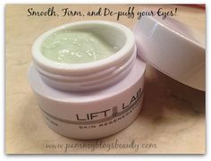 Smooth, Firm, and De-puff your Eye Area with LIFTLAB Lift & Firm Eye Cream! #skincare #LIFTLAB #beautytalk #bbloggers (Totally Need This!)