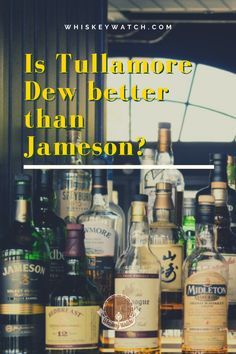 Tullamore Dew is marked as one of the most high-quality whiskeys worldwide, so which do you choose from another brand like Jameson? After weighing the pros and cons, I have concluded that one of them is the clear winner, and here I share with you which one is it, and what make me decide this. Do you have a different winner, and if so, why? #whiskeywatch #jamesonirishwhiskey #jamesonwhiskeydrinks #jamesondrinks #jamesonirishwhiskeydrinks #jamesoncocktails #jamesoncocktailsrecipes