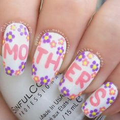 practise_makes_perfect mother's day #nail #nails #nailart
