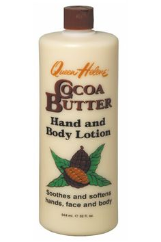 Queen Helene Cocoa Butter Hand and Body Lotion ~ Mix this rich moisturizer with a liquid bronzer to give skin a subtle hint of color and major sheen, says makeup artist Meredith Baraf, who helps Victoria's Secret angels Adriana Lima and Doutzen Kroes get camera-ready from head to toe.     $3.50, Walgreens.com