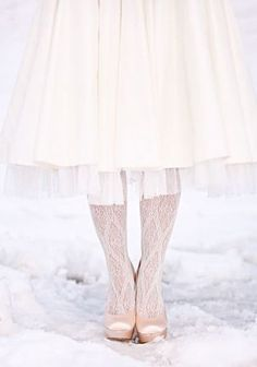 Winter Wedding Inspiration | Shoes