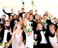 Lauren's bridal party