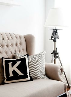 Tripod into lamp - paint in black-gun-metal or one of bolds aqua/pink/lime