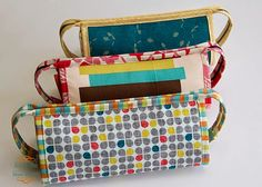 from the blue chair: Botanics and AMH Sew Together Bags - tips on the sew together bags