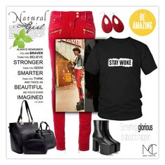 liberation celebration by mcheffer on Polyvore featuring polyvore fashion style Balmain Balenciaga NUR clothing