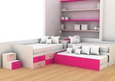 20 tips will help you improve the environment in your bedroom Quero esse quarto! I want this bedroom!