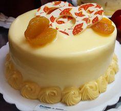 Torta de Damasco #confeitariapolos #goiania  (em Polos Pães e Doces)
