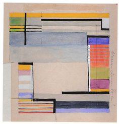 Gunta Stölzl - Bauhaus - carpet design