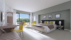 Mobilier chambre d'hôtel - CHAMBRE VANI | POITOUX