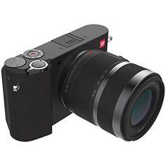 YI M1 Mirrorless Digital Camera with 42.5mm F1.8 Lens Storm Black(US Edition)