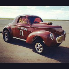 Vintage Drag Racing - Willys