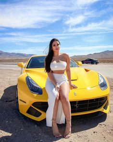 Check out these 20 Photos of Stunning Girls on – Classic Cars Jdm, F12 Berlinetta, Stunning Girls, Gorgeous Girl, Top Cars, Hot Brunette, Car Girls, Sexy Cars, Sport Cars