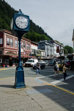 Juneau, Alaska.   Did you know this city is #1 for most restaurants per capita in the USA? #travelfact