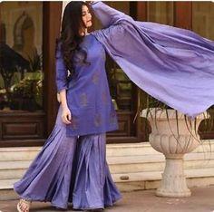 Details over Diwali Special Pakistaanse Salwar Kameez volledig uitlopende Sharara rechte Kurta Duppta, Sharara Designs, Kurta Designs Women, Kurti Designs Party Wear, Pakistani Dress Design, Pakistani Dresses, Pakistani Sharara, Stylish Dress Designs, Stylish Dresses, Indian Salwar Kameez