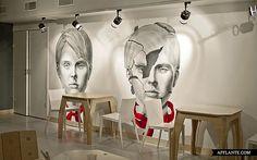 Cafe Artek in St. Petersburg // Dopludo Collective & Konstantin Grcic | Afflante.com