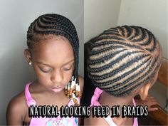 How To Do Lemonade Feed In Braids DETAILED TUTORIAL - YouTube