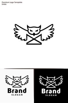 Owl Logo DesignYou can use it for many creative business companiesSupport work 24 hoursAll in CMYK color mode vector file fully editable Easy to edit Owl Logo, Attic Bedrooms, Premium Logo, Photographer Portfolio, Vector File, Logo Templates, Logo Inspiration, Creative Business, Logos