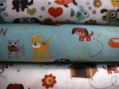 Fat quarter from Max and whiskers fabric by by missmousecrafts, $2.75