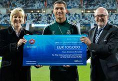 Cristiano Ronaldo donates €600,000 league bonus to charity