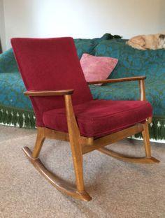 Retro-mid-century-rocking-chair-Parker-Knoll-Mid-Century-furniture