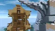 Villa Minecraft, Château Minecraft, Amazing Minecraft Houses, Architecture Minecraft, Casa Medieval Minecraft, Minecraft Shops, Minecraft House Plans, Minecraft Mansion, Minecraft Houses Survival