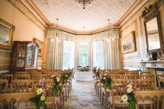 Wedding ceremony room styling at The Mansion House, Bristol | www.theplanninglounge.co.uk | Image courtesy of http://www.lifeinfocusphotography.co.uk/ Victorian Buildings, Fashion Room, Mansions Homes, Wedding Ceremony, Wedding Venues, Bristol, Image, House, Table Decorations
