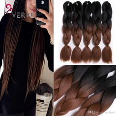 ombre-braiding-hair-brown-two-tone-24inch