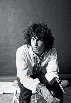 Jim Morrison photographed by Guy Webster, 1966