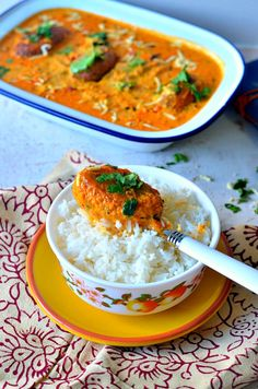 'Malai Kofta' – Cottage cheese dumplings in tomato gravy