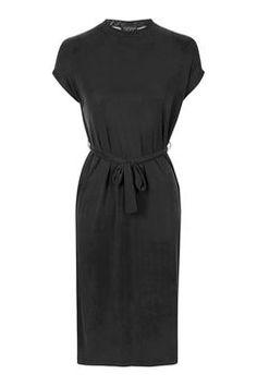 Cupro Midi Dress