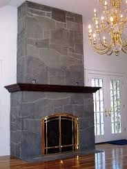 Image Result For Slate Fireplace