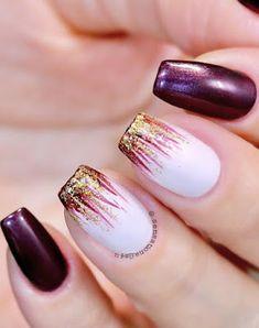 39 Fabulous Ways to Wear Glitter Nails Designs for 2019 Summer! Part glitter nails; Gliter Nails, Shiny Nails, My Nails, Acrylic Nail Designs, Acrylic Nails, Nail Art Designs, Summer Pedicure Colors, Summer Nails, Cute Nails