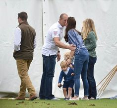 William , Catherine , George et  Harry - Gigaset Charity Polo Match , le 14 Juin 2015 _ Suite